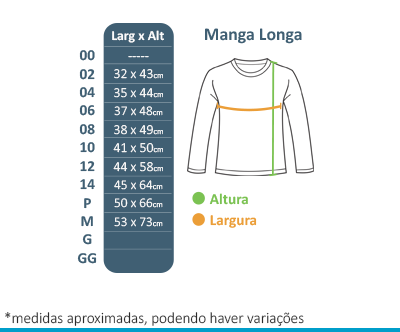 Camiseta Manga Longa - Colégio Tutor School  - BÁSICA UNIFORMES
