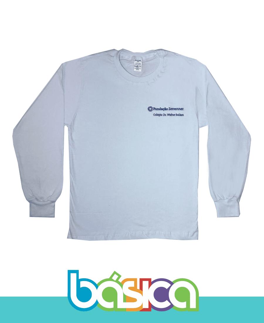 Camiseta Manga Longa ETWB  - BÁSICA UNIFORMES