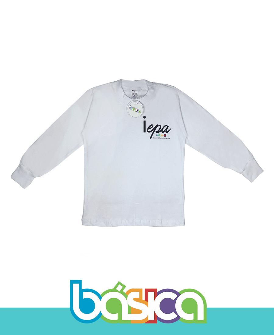 Camiseta Manga Longa IEPA  - BÁSICA UNIFORMES