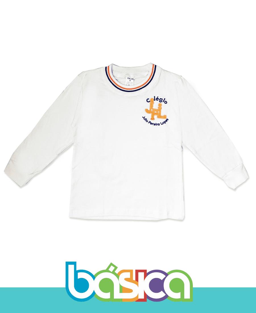 Camiseta Manga Longa JPL  - BÁSICA UNIFORMES