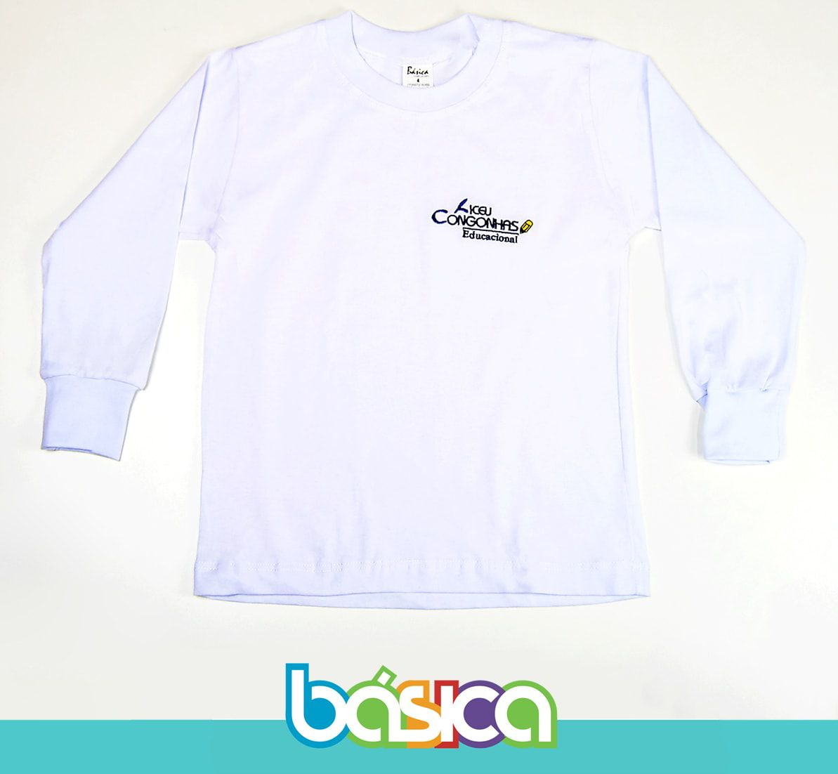 Camiseta Manga Longa Liceu Congonhas  - BÁSICA UNIFORMES