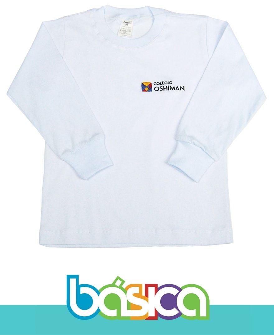 Camiseta Manga Longa Oshiman  - BÁSICA UNIFORMES