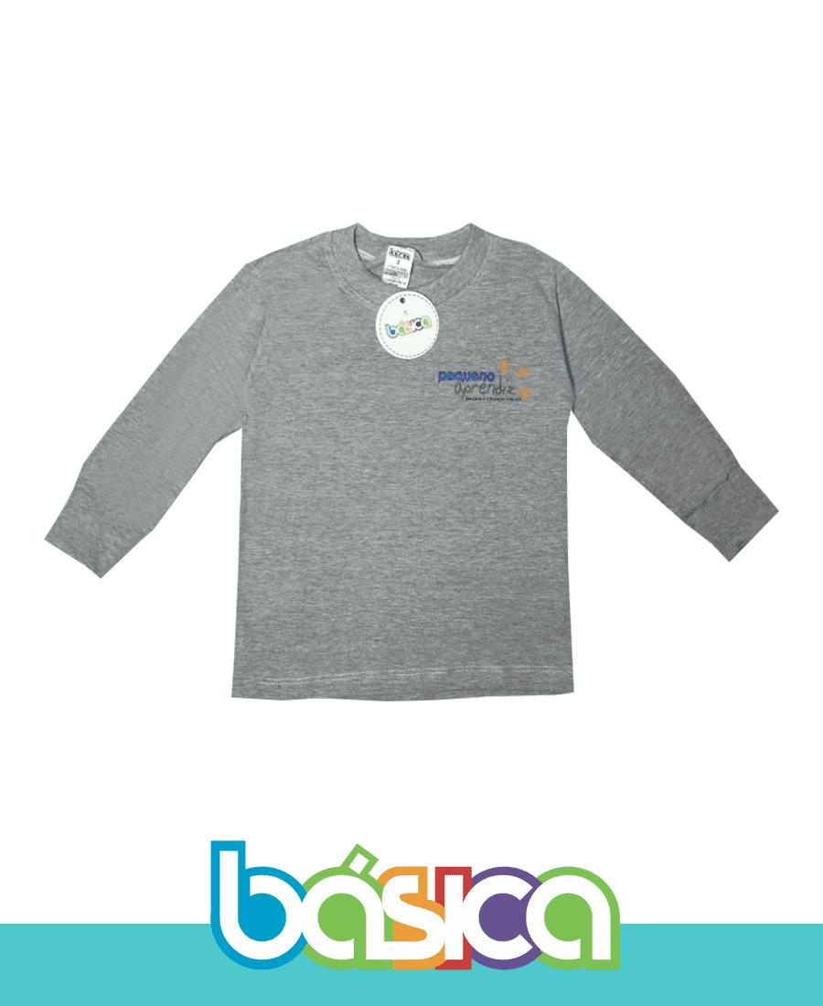 Camiseta Manga Longa - Pequeno Aprendiz  - BÁSICA UNIFORMES