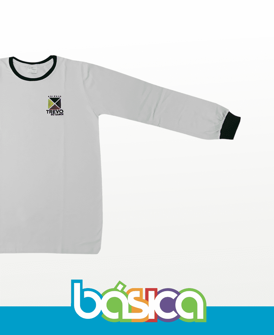 Camiseta Manga Longa - Trevo do saber  - BÁSICA UNIFORMES
