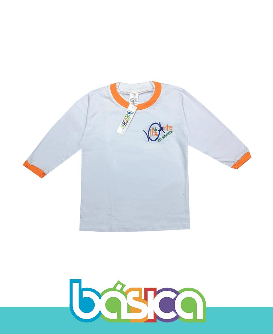 Camiseta Manga Longa - Vila da Arte  - BÁSICA UNIFORMES