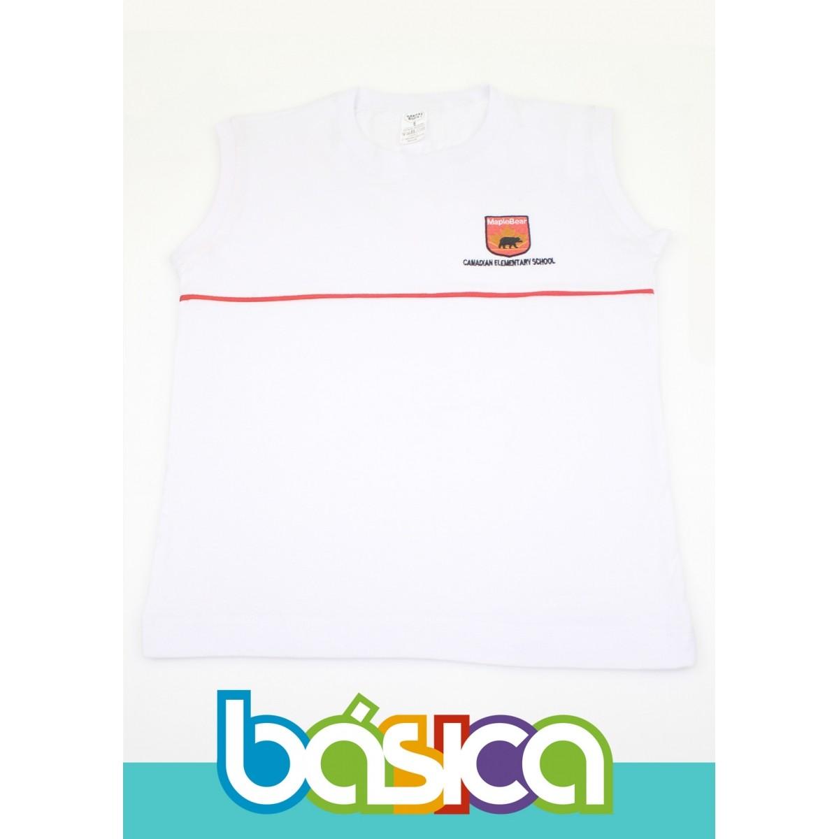 Camiseta Regata Maple Bear Fundamental  - BÁSICA UNIFORMES