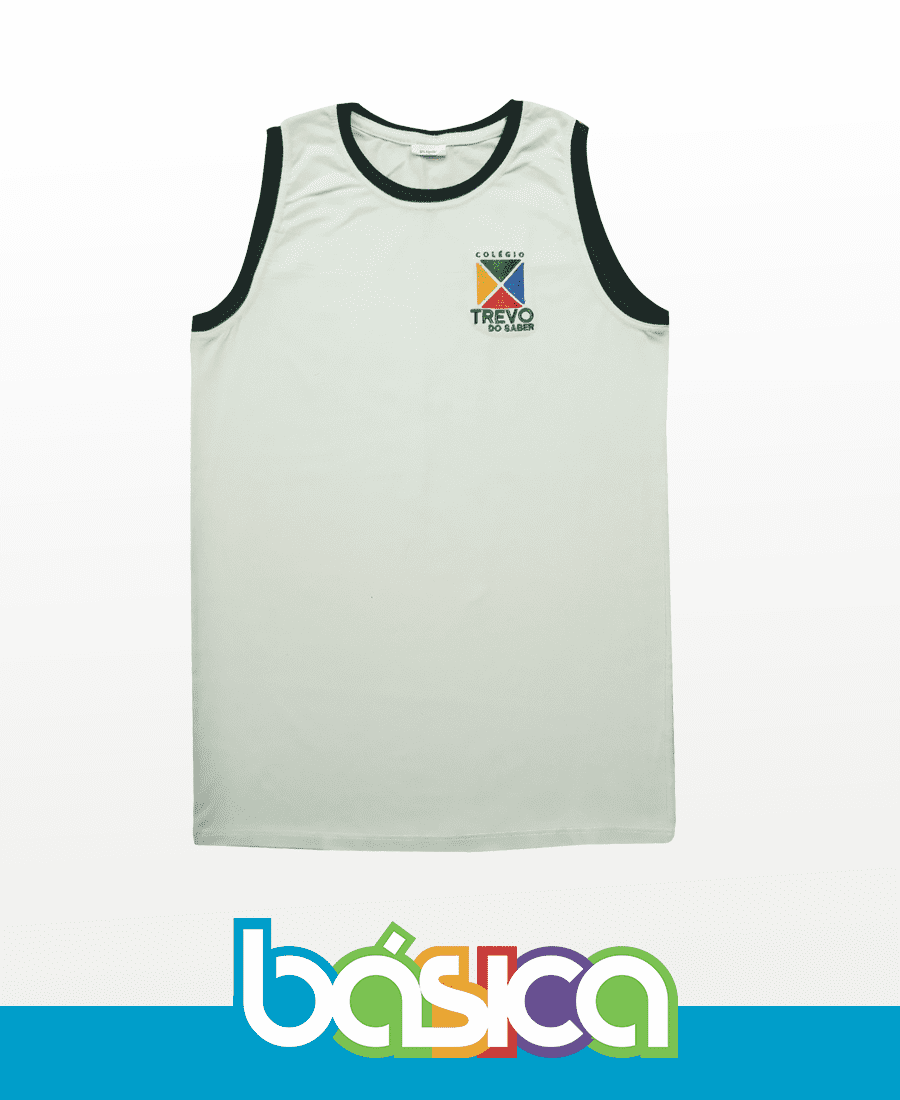 Camiseta Regata - Trevo do Saber  - BÁSICA UNIFORMES