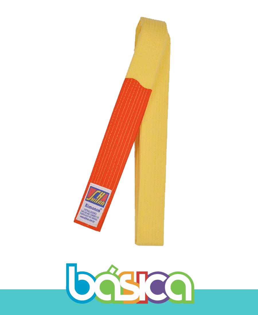 Faixa para Kimono Infantil Judô - Duas cores  - BÁSICA UNIFORMES