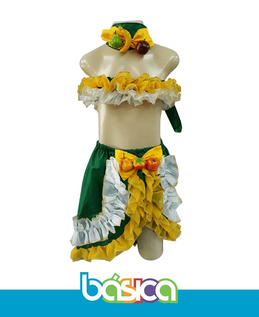 Fantasia Carmen Miranda  - BÁSICA UNIFORMES