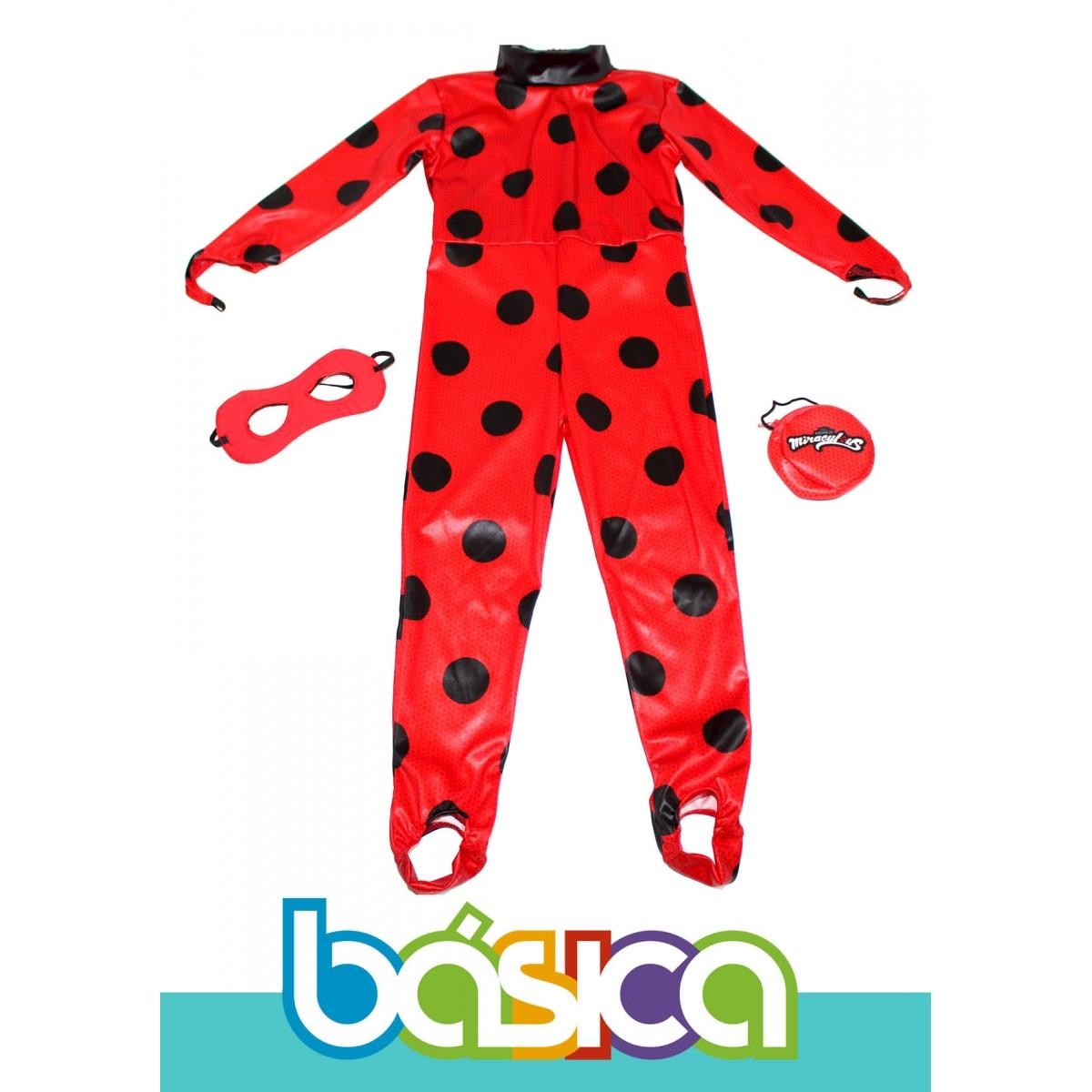 Fantasia da LadyBug Infantil  - BÁSICA UNIFORMES