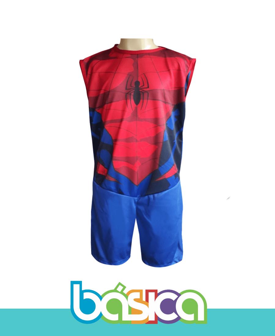 Fantasia Infantil Homem Aranha  - BÁSICA UNIFORMES