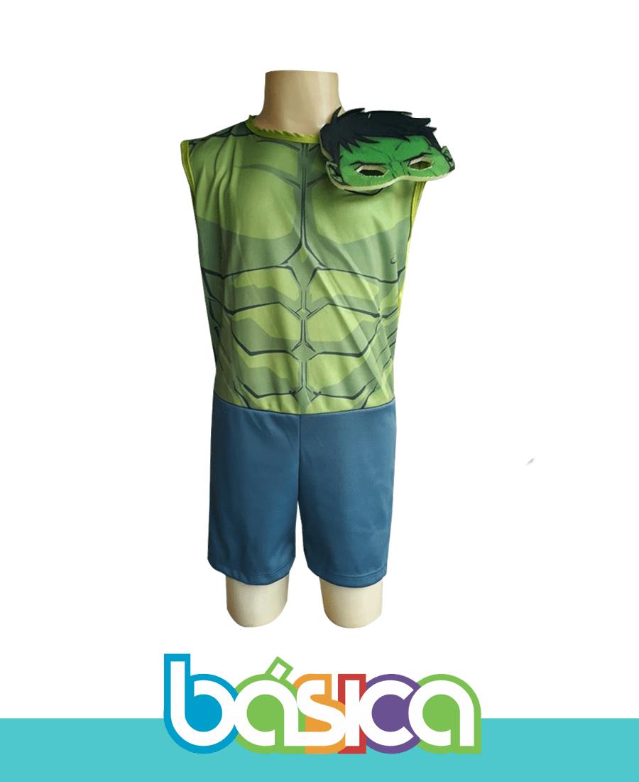 Fantasia Infantil Hulk  - BÁSICA UNIFORMES