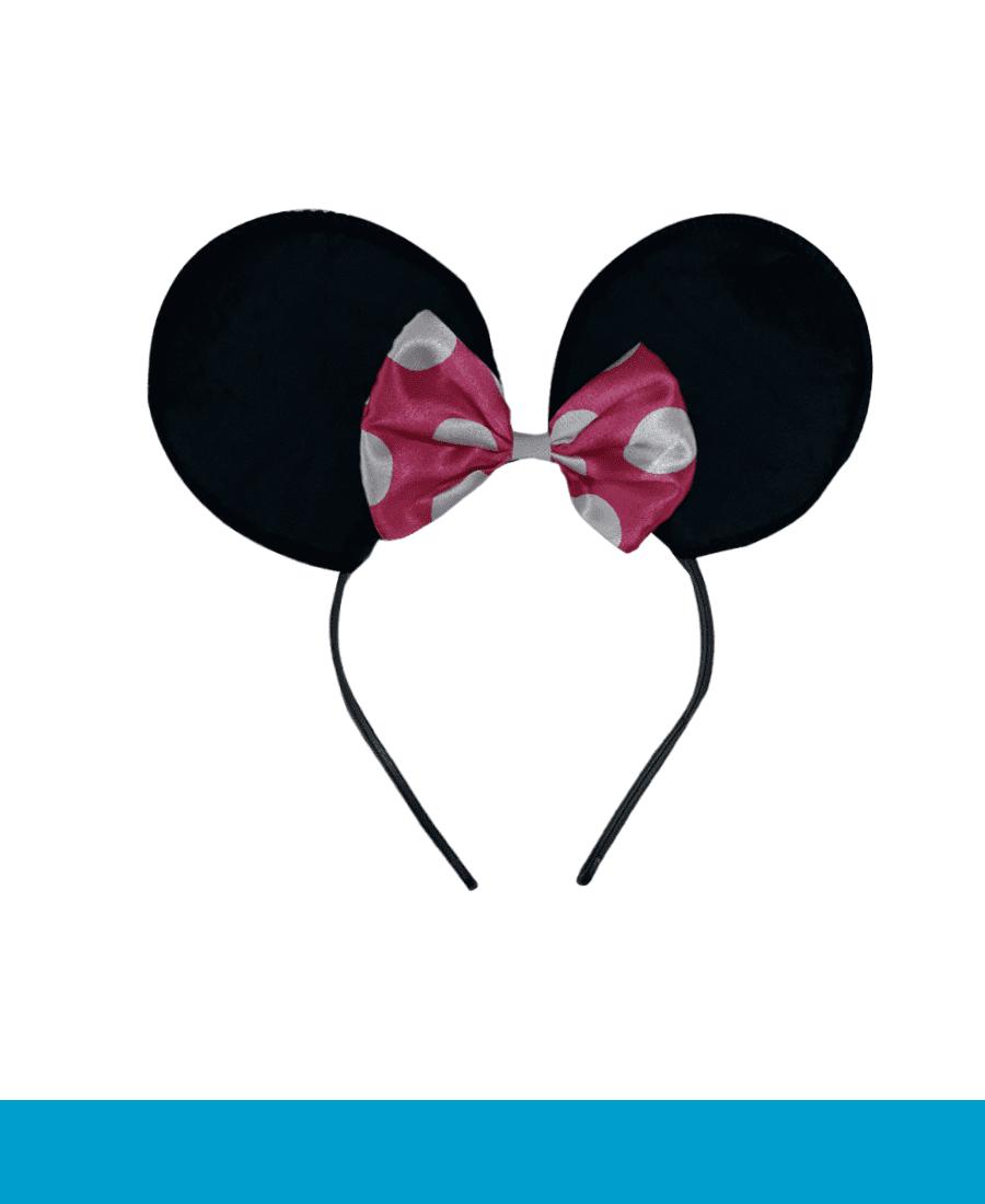 Fantasia Minnie Rosa  - BÁSICA UNIFORMES
