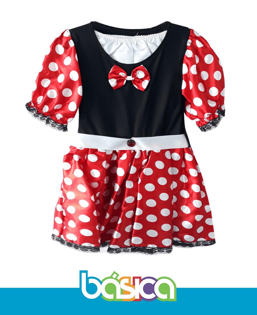 Fantasia Minnie Vermelha  - BÁSICA UNIFORMES