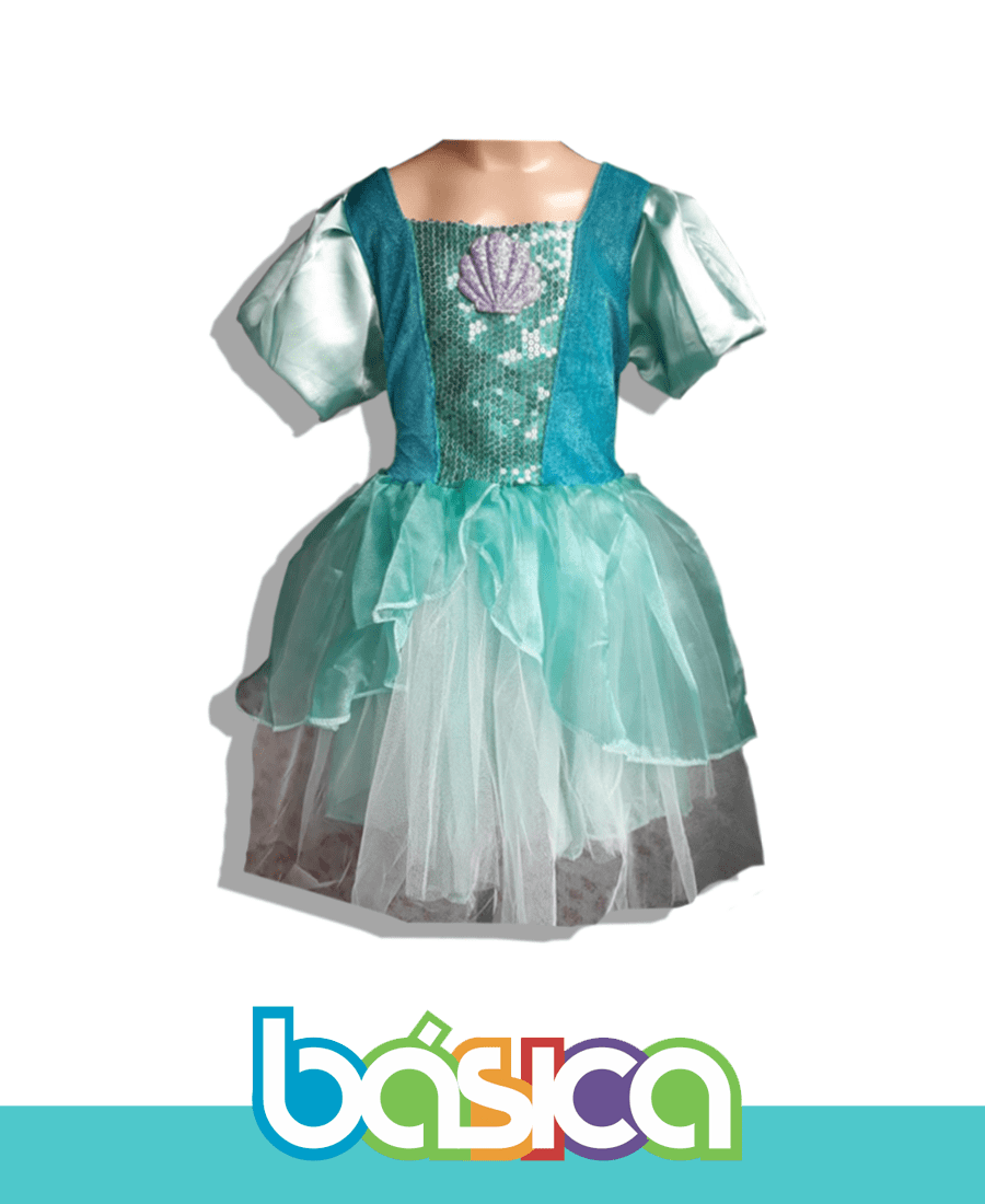 Fantasia Princesa Ariel  - BÁSICA UNIFORMES