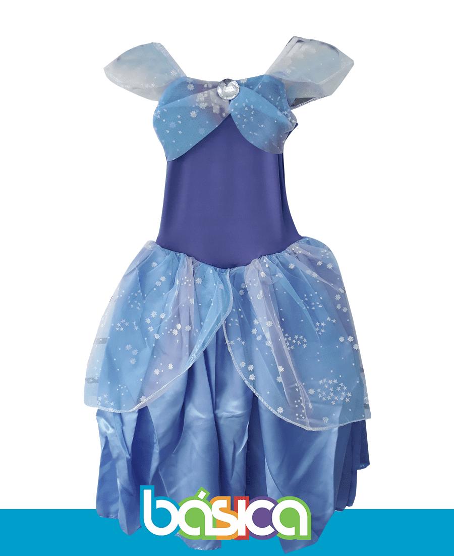 Fantasia Princesa Sofia Simples  - BÁSICA UNIFORMES