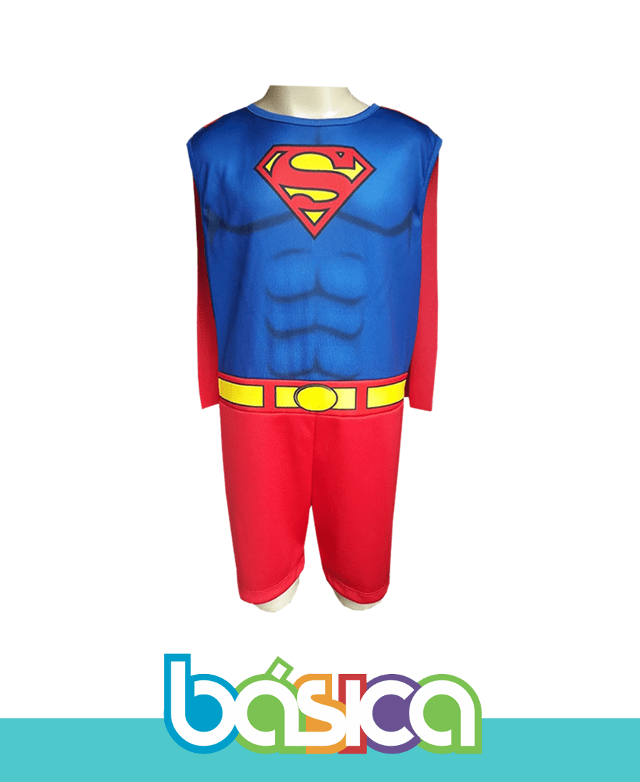 Fantasia Superman   - BÁSICA UNIFORMES