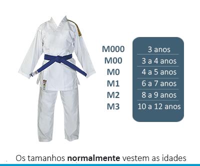 Kimono - BRANCO  - BÁSICA UNIFORMES