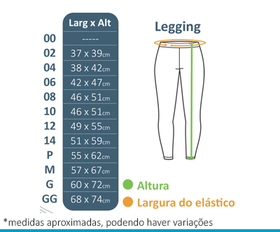Legging Oshiman  - BÁSICA UNIFORMES