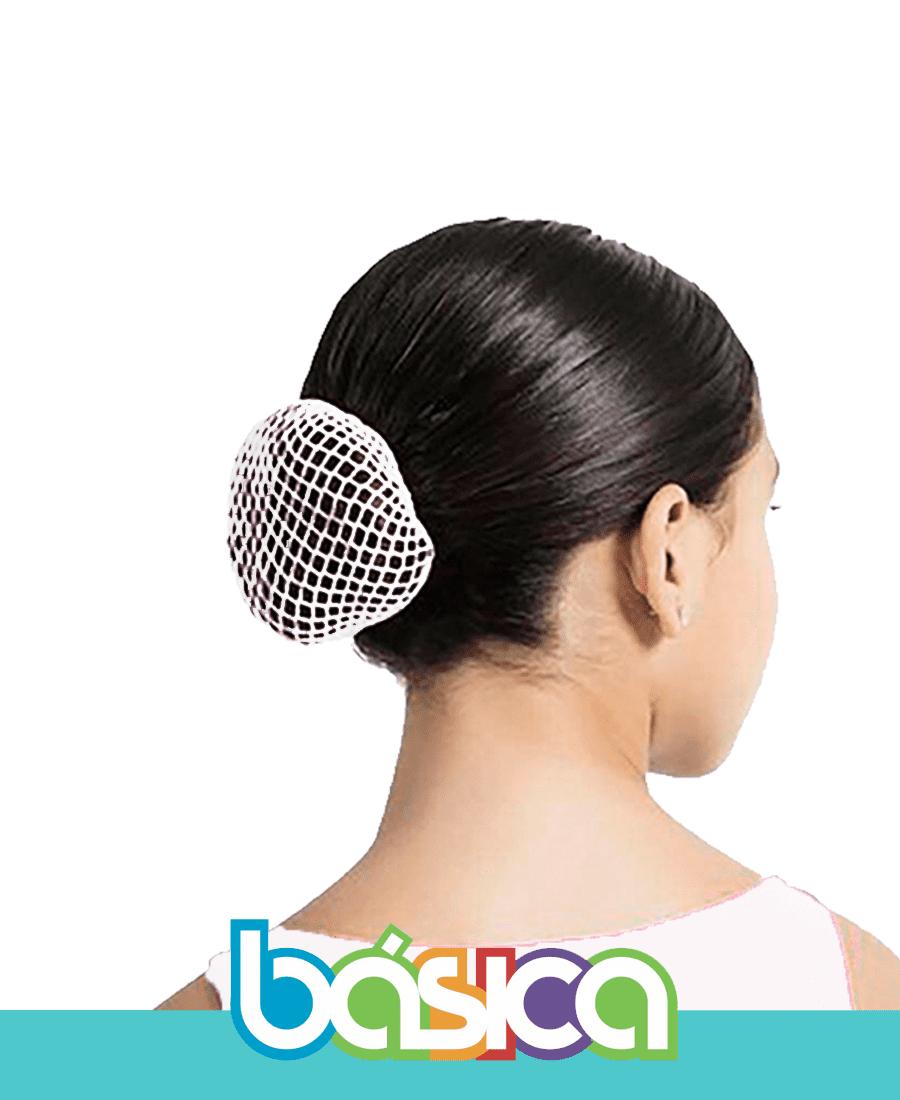 Rede de cabelo para Ballet Branco - Brasil Canadá  - BÁSICA UNIFORMES