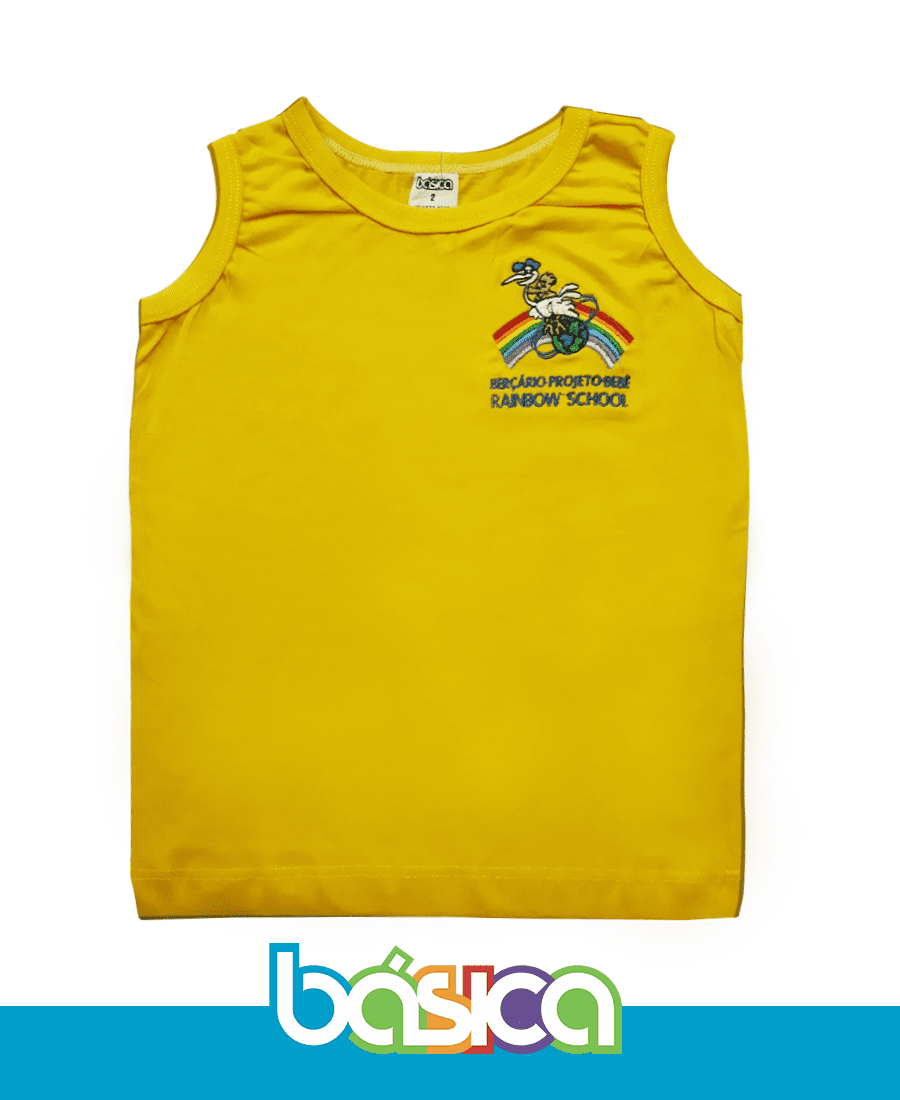 Regata Simples Rainbow School  - BÁSICA UNIFORMES