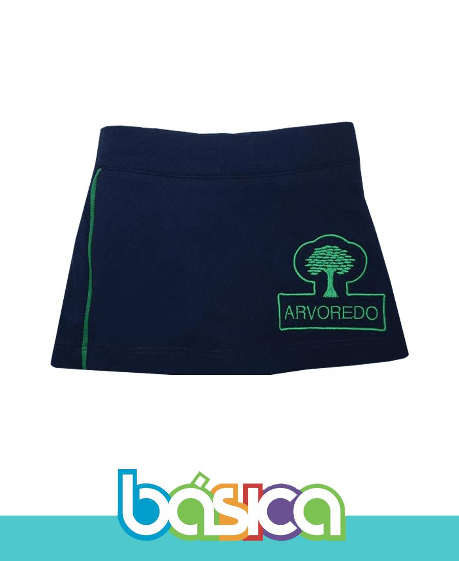 Shorts Saia - Arvoredo  - BÁSICA UNIFORMES
