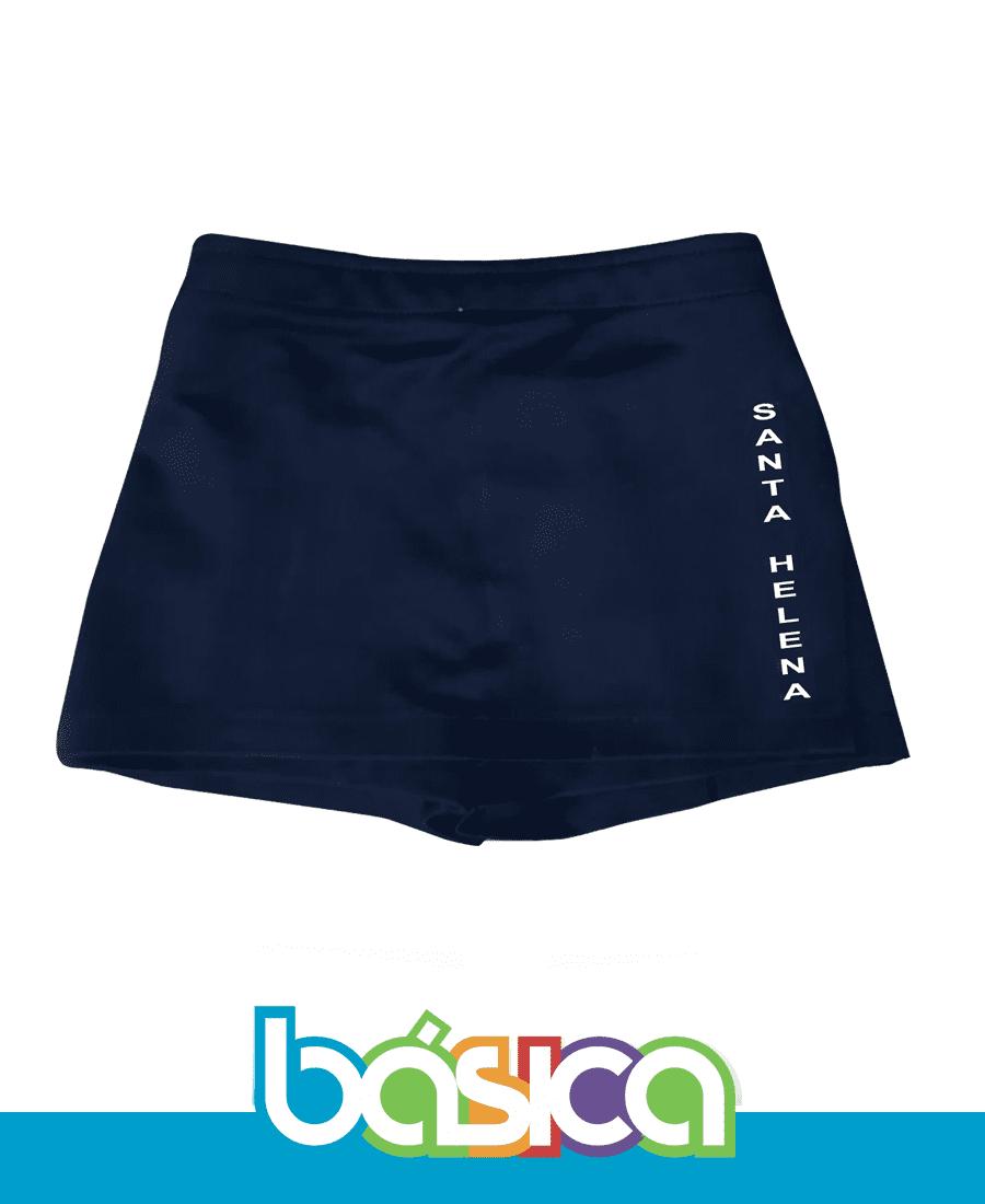 Shorts Saia Colégio Santa Helena  - BÁSICA UNIFORMES