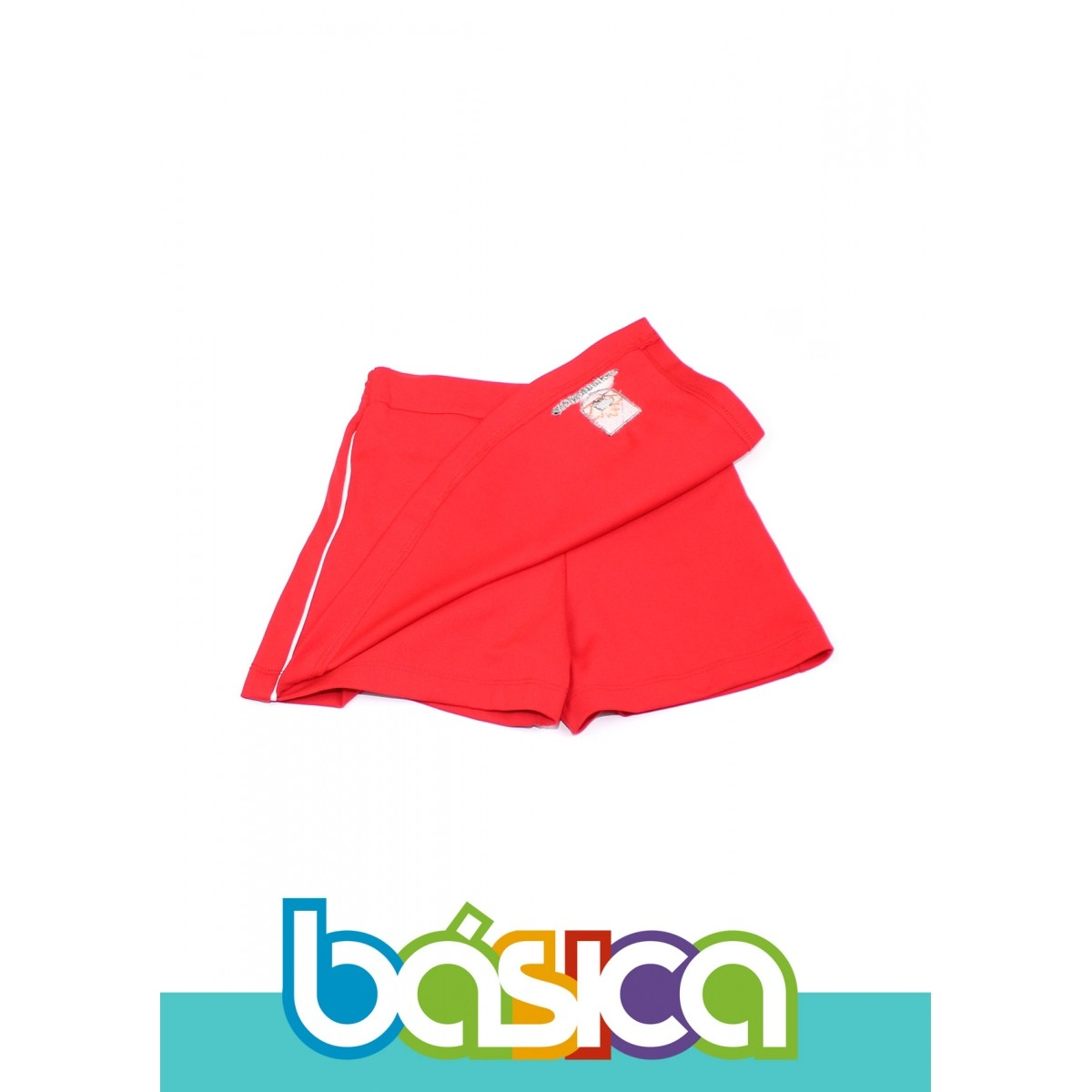 Shorts Saia Helanca Maple Bear Fundamental  - BÁSICA UNIFORMES