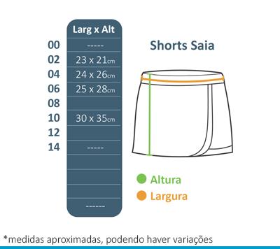 Shorts Saia Henri Wallon  - BÁSICA UNIFORMES