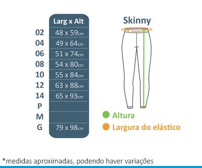 Skinny de Helanca - Colégio Diáspora  - BÁSICA UNIFORMES