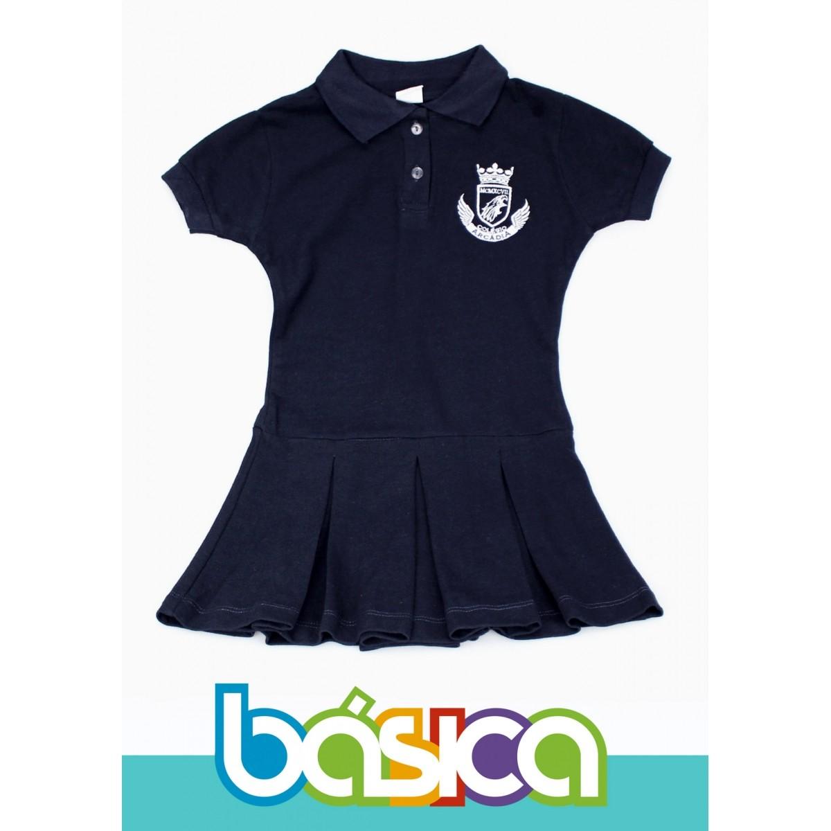 Vestido Colégio Arcádia  - BÁSICA UNIFORMES