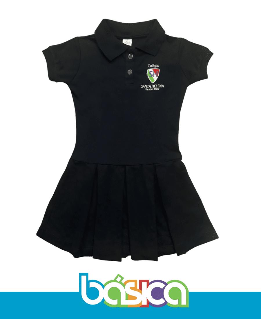 Vestido Colégio Santa Helena  - BÁSICA UNIFORMES