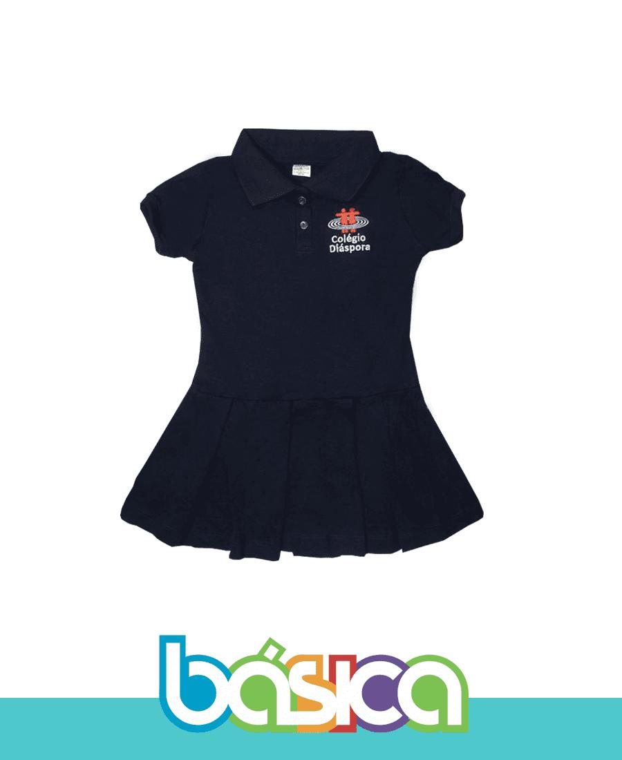 Vestido Fundamental - Colégio Diáspora  - BÁSICA UNIFORMES