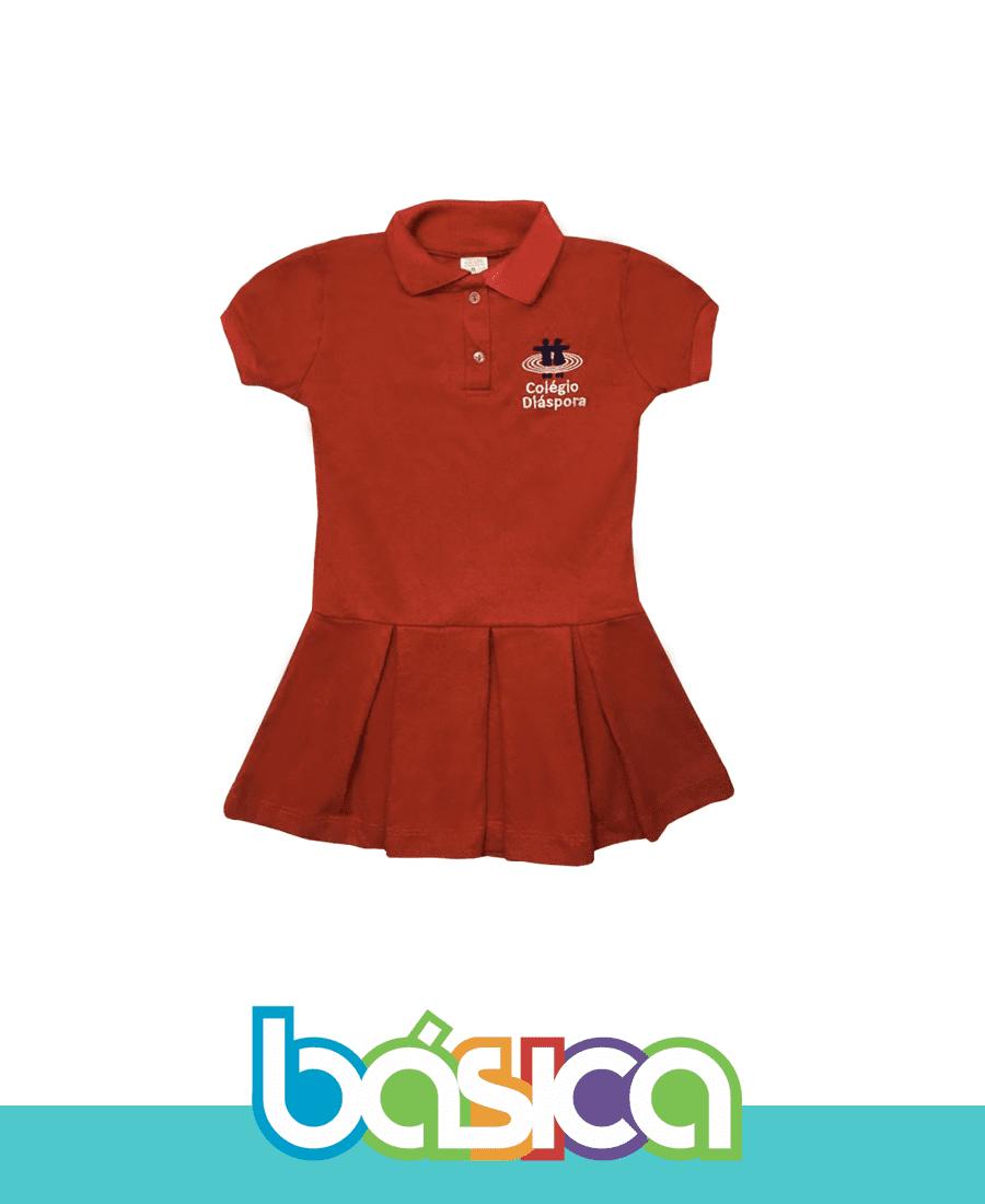 Vestido Infantil Colégio Diáspora  - BÁSICA UNIFORMES