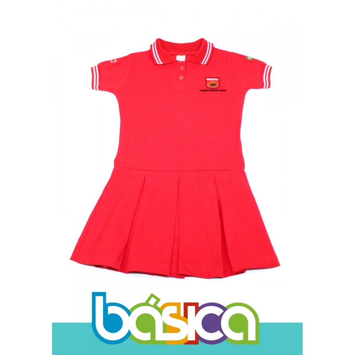 Vestido Maple Bear Fundamental  - BÁSICA UNIFORMES