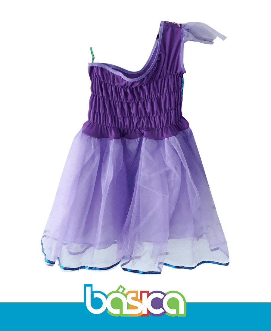 Vestido Roxo  - BÁSICA UNIFORMES