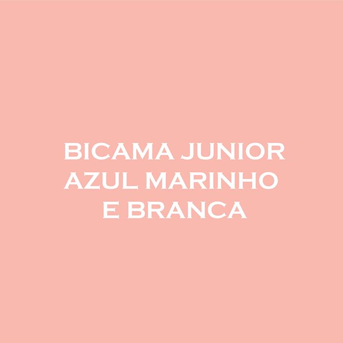 BICAMA ANIS JUNIOR - AZUL MARINHO E BRANCA