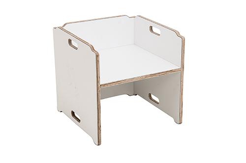 Cadeira Cubo Infantil Lótus