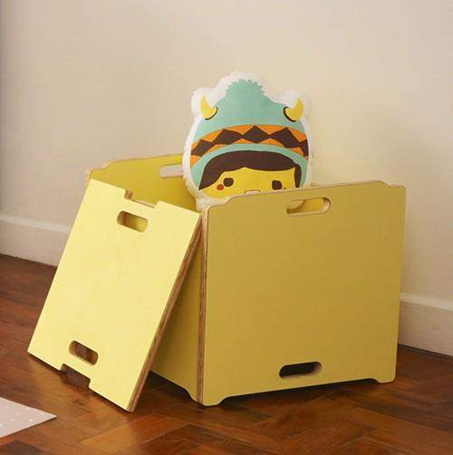 Caixa de Brinquedos Lótus