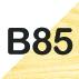 B TAMANHO 85CM: ESTRUTURA MARFIM, GAVETAS BRANCAS