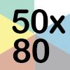 50x80x50 COLORIDA