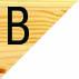 B. Laterais e Tampo PINUS/ Extremidades BRANCO