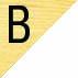 B. Laterais e Tampo MARFIM/ Extremidades BRANCO