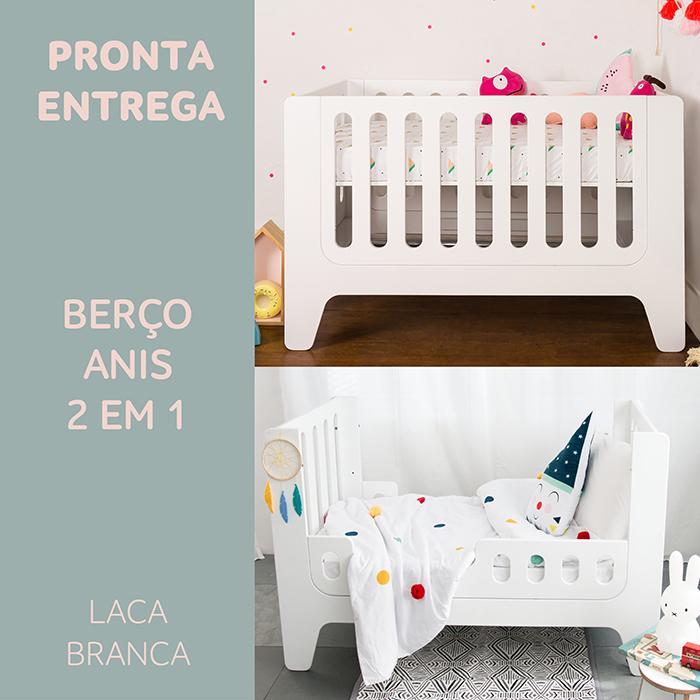 PRONTA ENTREGA:  Anis Berço + Mini Cama
