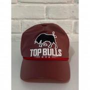 Boné Country Top Bulls Couro Vinho 1010215