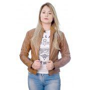 Jaqueta Feminina em Couro 111 Wisky 1009636
