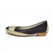 Sapato Conforto Prata Couro