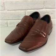Sapato Masculino Prata Couro 1010749 Havana