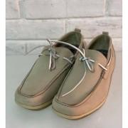 Sapato Masculino Sandalo 3177 Off White