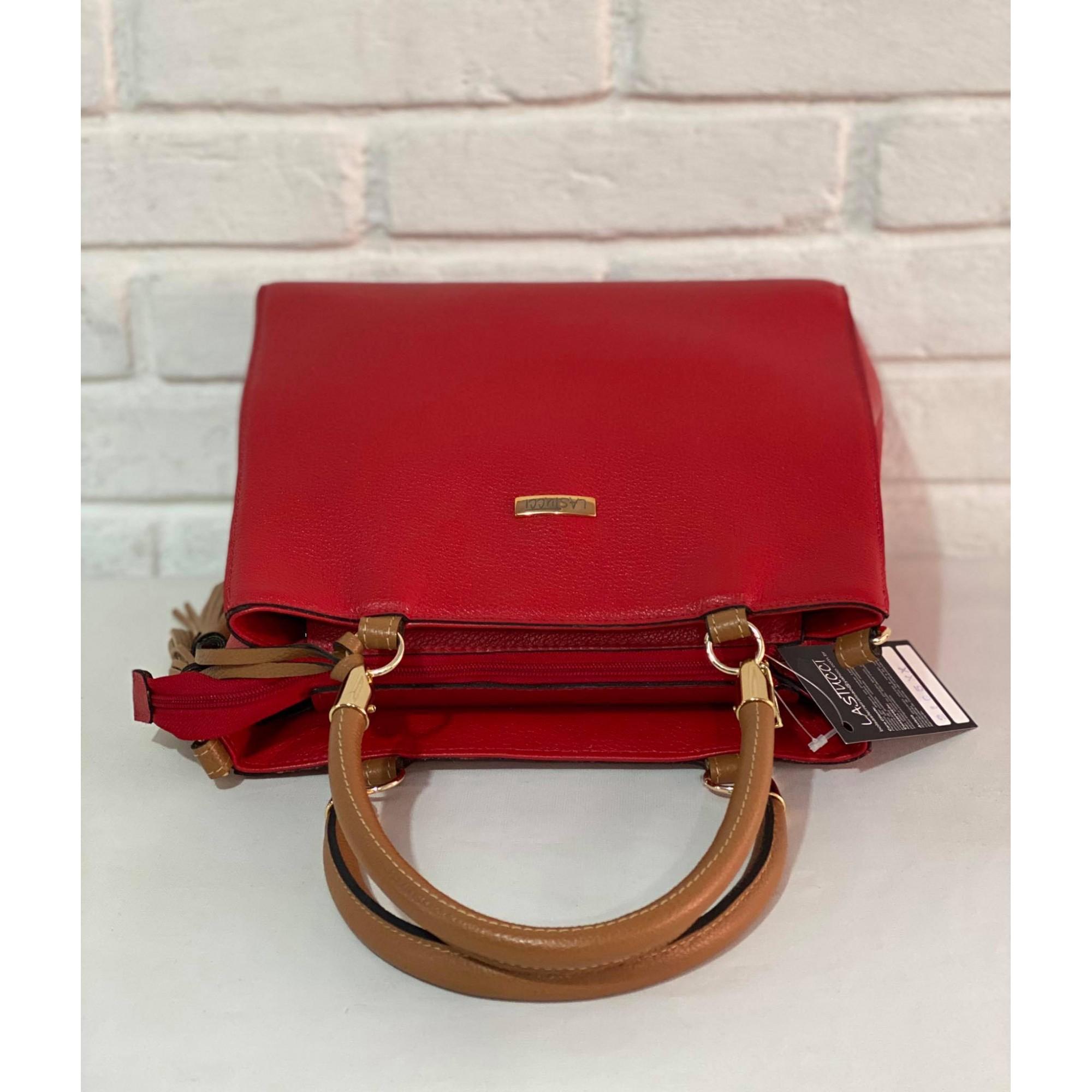 Bolsa Lastucci 1010687 Vermelha/Marrom